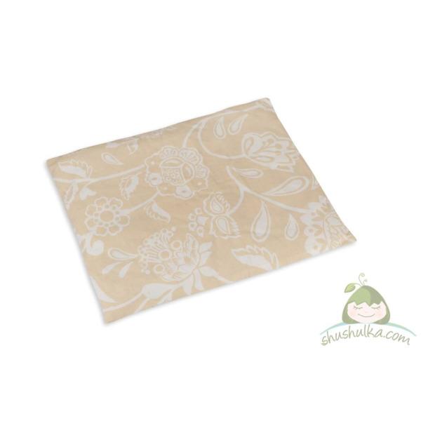 Възглавница от био памук и мерино вълна