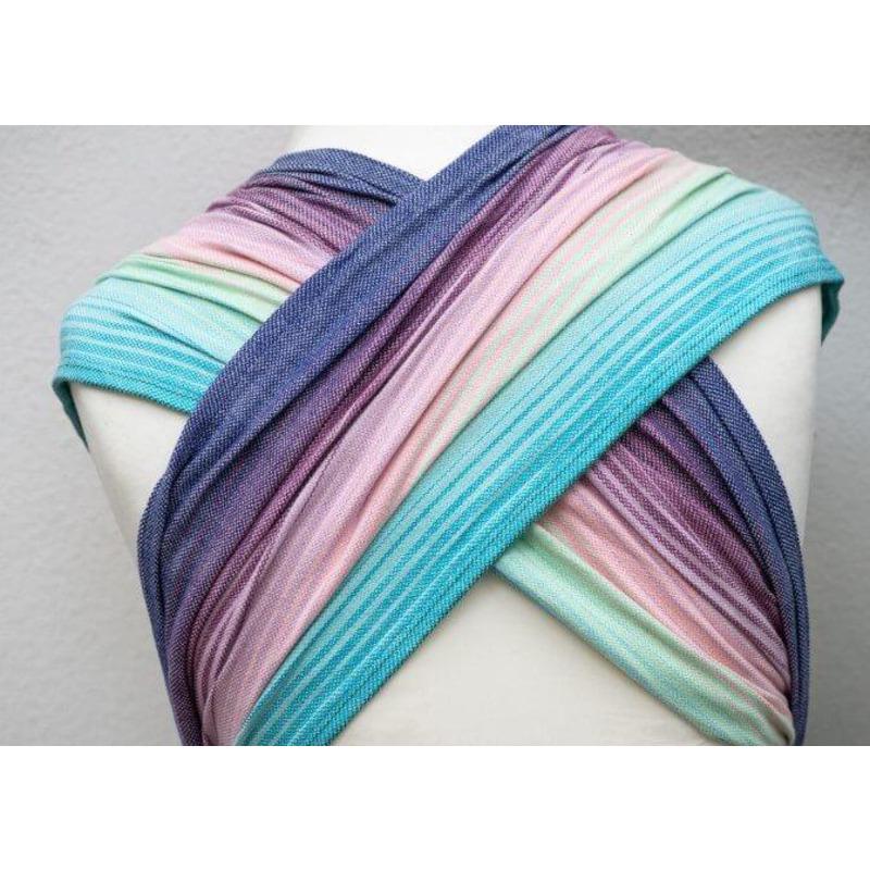 Регулируем рап тай WrapMySol Rainbow Dreamer Girasol