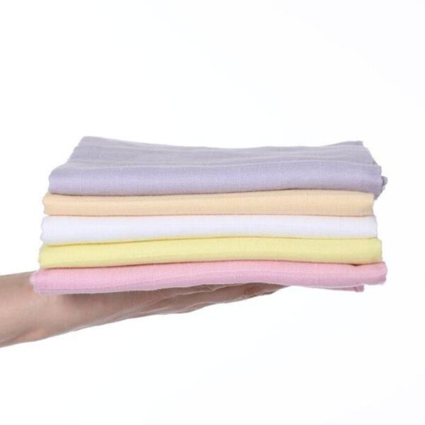 Бебешки пелени от органичен памук, комплект 5бр, Girls