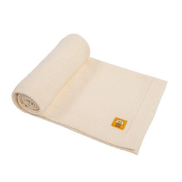 Бебешко одеяло 100% мерино вълна