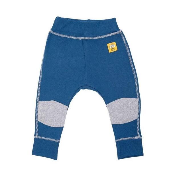 Бебешки панталонки с наколенки 100% мерино