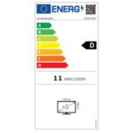 "LG 20MK400H-B, 19.5"" LED AG, 5ms GTG, 600:1, Mega DFC, 200cd/m2, HD 1366x768, D-Sub, HDMI, Tilt, Flicker Safe, Black"