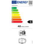 "LG 32UL750-W, 31.5"" Wide LED AG, VA, DCI-P3 95%, 4ms, 350 cd/m2, 3000:1, 3840x2160, HDR 600, USB Type-C, USB, HDMI, DisplayPort, Radeon FreeSync, Dynamic Action Sync, Speaker, Headphone out,"