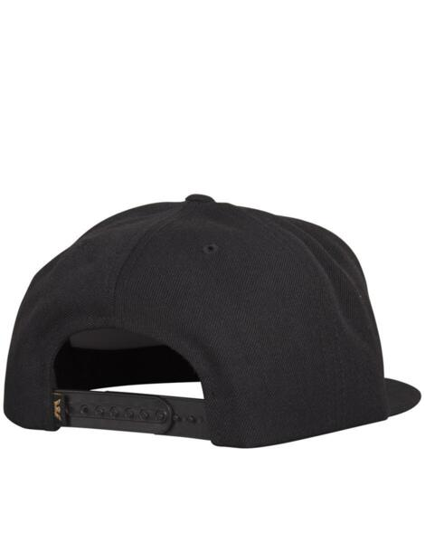 Шапка SUPRA Above Snapback Hat Black/Dark Olive