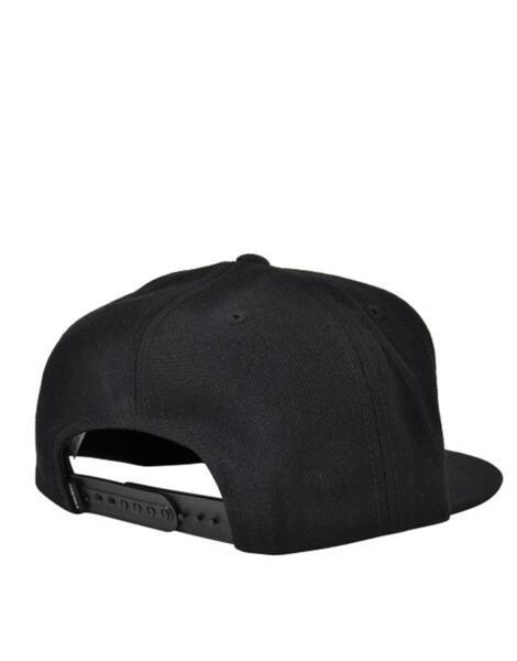 Шапка SUPRA Icon Snapback Hat All Black
