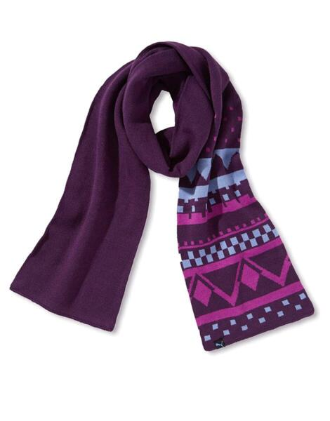 Дамски шал PUMA Akutan Casual Scarf Purple