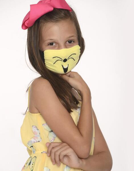 Трислойна детска маска с подвижен филтър