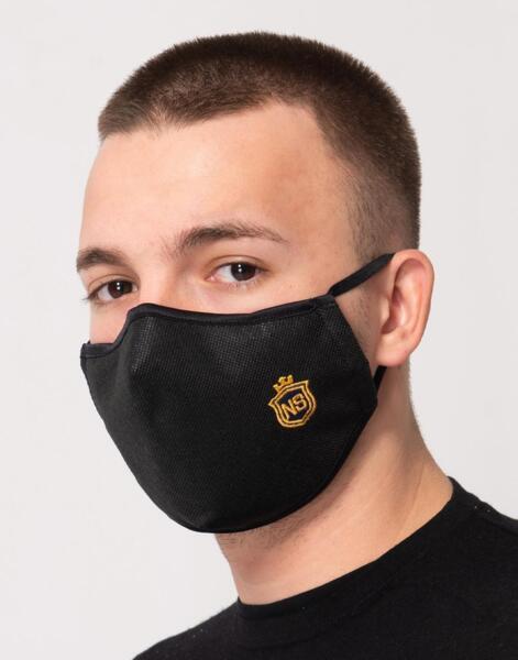 Двуслойна  маска с метален стек     .