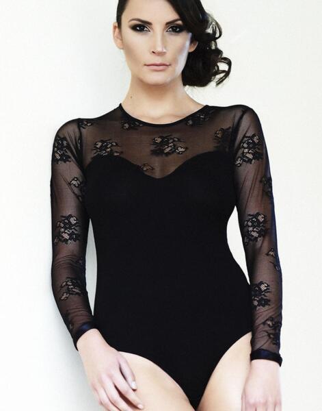 Боди блуза-слип