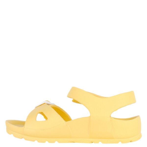 Детски сандали в жълт цвят Колев и Колев