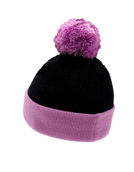 Шапка PUMA Pom Pom Beanie Purple