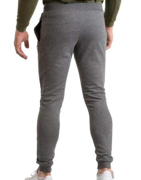 SERGIO TACCHINI Iconic Cuff Pant Grey Melange