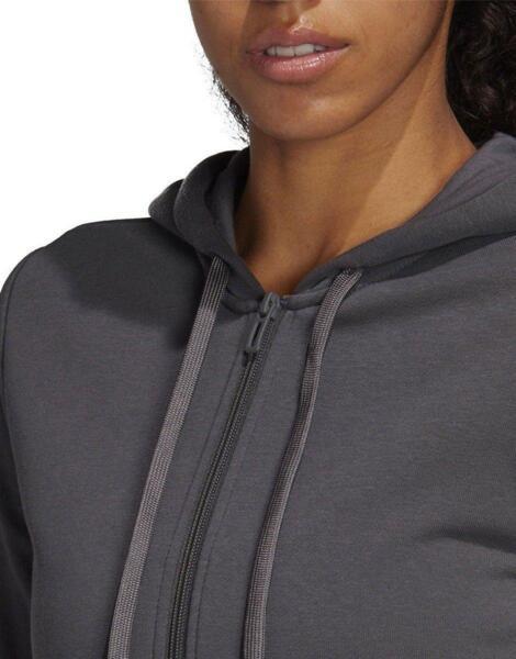 ADIDAS Club Zipped Womens Tennis Hoodie Grey