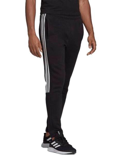 ADIDAS 3 Striped Jogging Pants Black