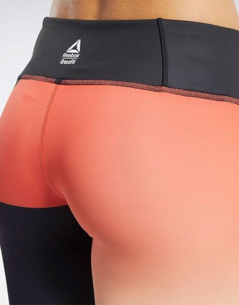 REEBOK CrossFit Lux Leggings Black/Orange