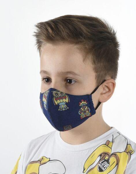 Трислойна маска -малък господин