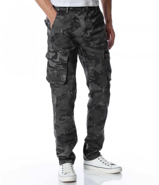 Камуфлажен карго панталон