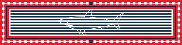 "Дълъг копринен шал ""Акула"" 180"