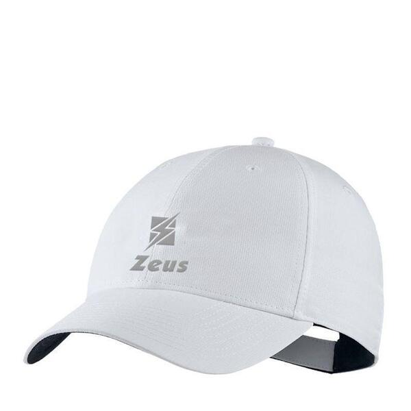 Шапка ZEUS Cappello Bill Bianco