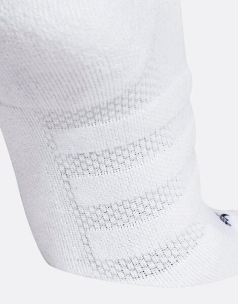 ADIDAS Alphaskin Cushioning Ankle Socks White