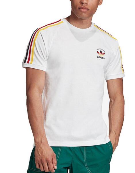 ADIDAS 3-Stripes Germany Tee White