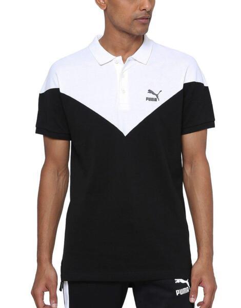PUMA Iconic MCS Slim Polo Black