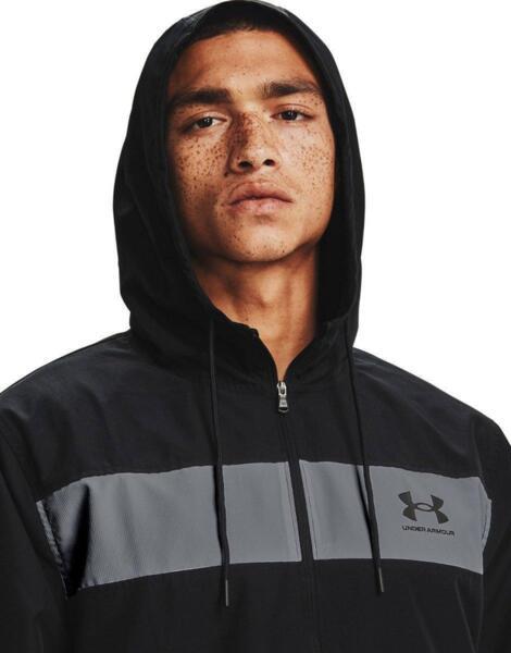 UNDER ARMOUR Sportstyle Windbreaker Jacket Black