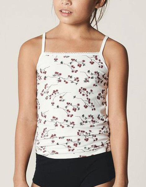NAME IT 2-Pack Strap Top Strawberry Cream