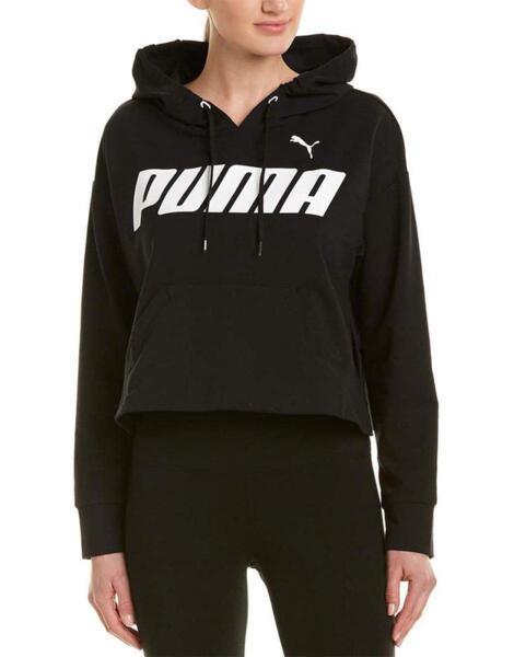Дамско горнище PUMA Modern Sports Cotton Hoodie Black