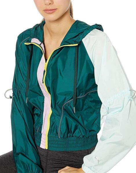 Дамско яке PUMA Cosmic Jacket Green