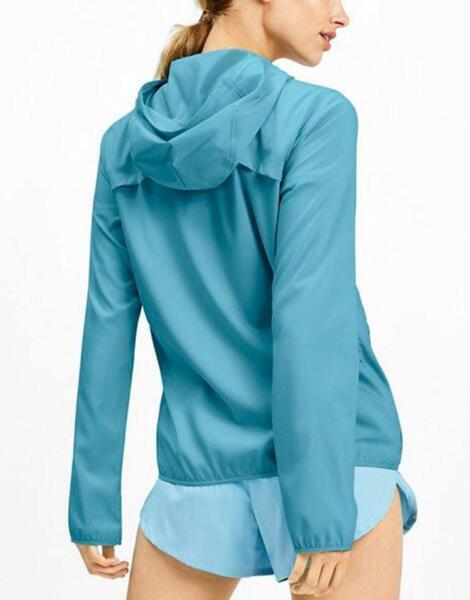 Дамско яке PUMA Last Lap Hooded Jacket Blue