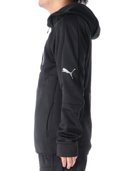 Мъжко горнище PUMA Evostripe FZ Warm Hooded Jacket Black