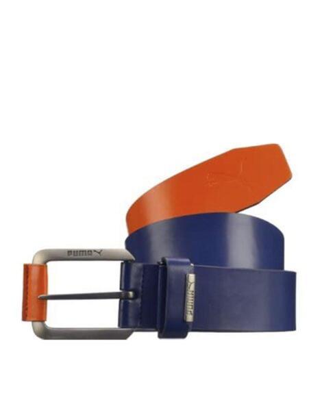 Колан PUMA Colorblock Cut To Lenght Belt Blue/Orange