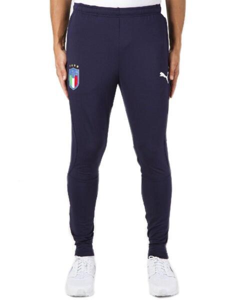 Мъжко долнище PUMA FIGC Italia Training Sweatpants Navy