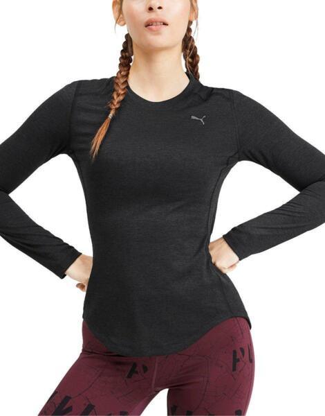 Дамска блуза PUMA Ignite Ls Tee  Black