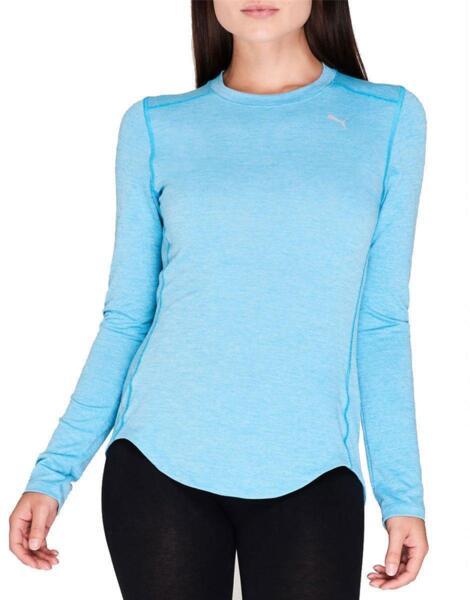 Дамска блуза PUMA Ignite LS Tee Blue