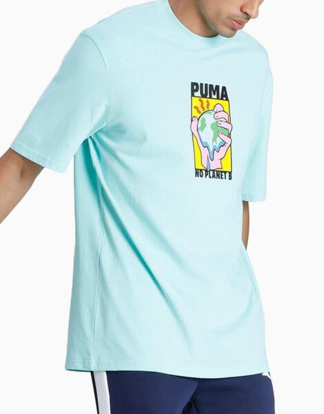 Мъжка тениска PUMA Downtown Graphic Tee Blue