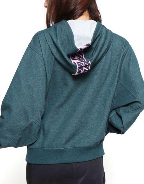 Дамски суичър PUMA Feel It Cover Up Sweater Green