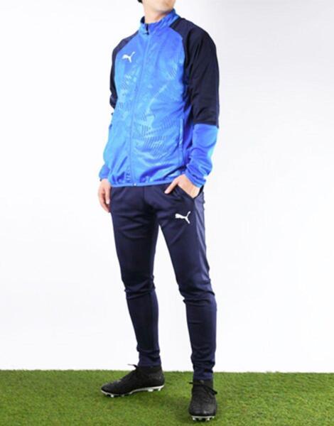 Мъжко горнище PUMA Cup Training Poly Core Jacket Blue