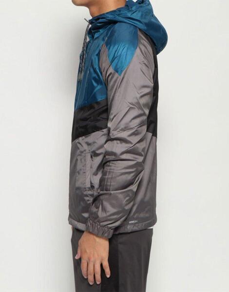 Мъжко горнище PUMA Reactive Tricot Linen Woven Jacket Grey/Blue