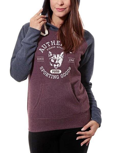 Дамско горнище PUMA Fun Athletics Fleece Hoodie Purple