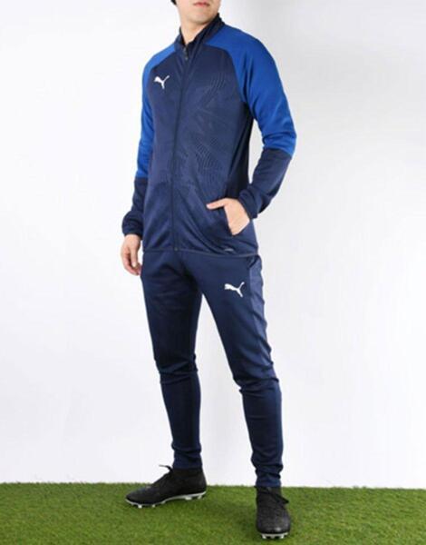 Мъжко горнище PUMA Cup Training Jacket Blue
