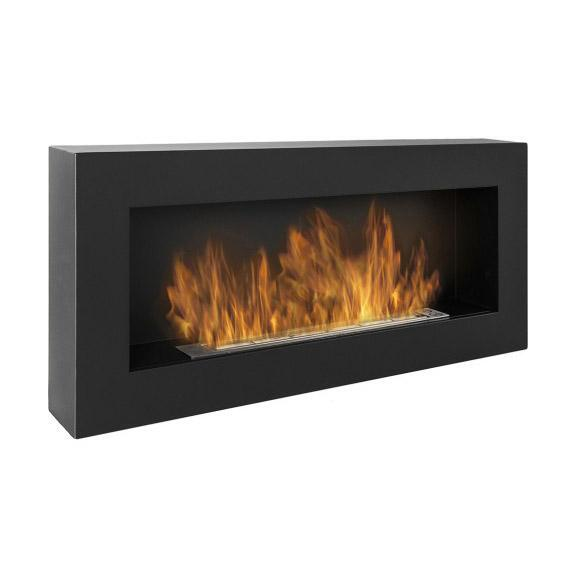 Биокамина Infinity 900 х 400 BOX Black + подарък регулация на пламъка