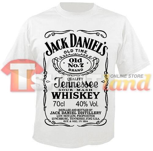 Jack Daniel's (бяла тениска)