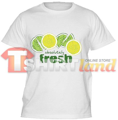 Детска тениска Absolutely Fresh Греен