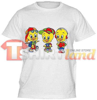 Детска тениска с три патенца