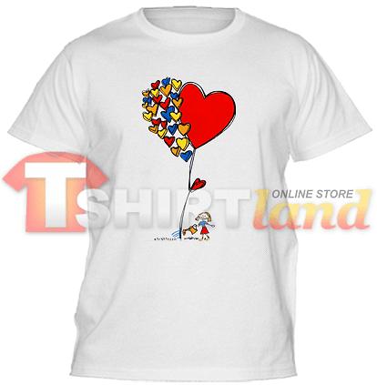 Детска тениска Балон Любов