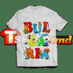 Тениска с надпис България