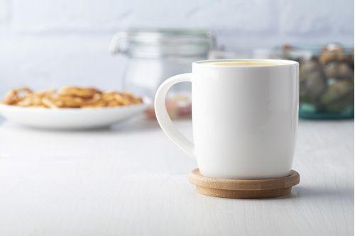Порцеланова чаша с подложка Hestia