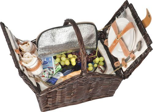 Кошница за пикник за двама
